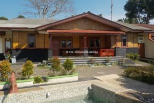 villa munas villa di ciater untuk rombongan