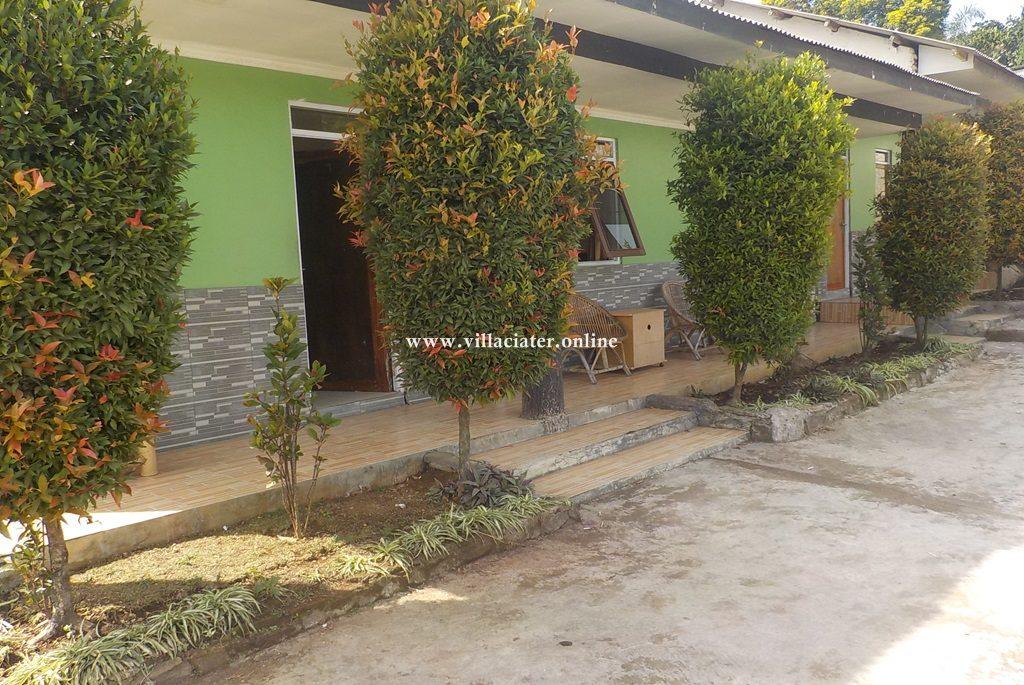 harga villa di ciater untuk 2 orang fasilitas 1 kamar tidur
