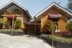 villa di ciater untuk 2 orang fasilitas 1 kamar