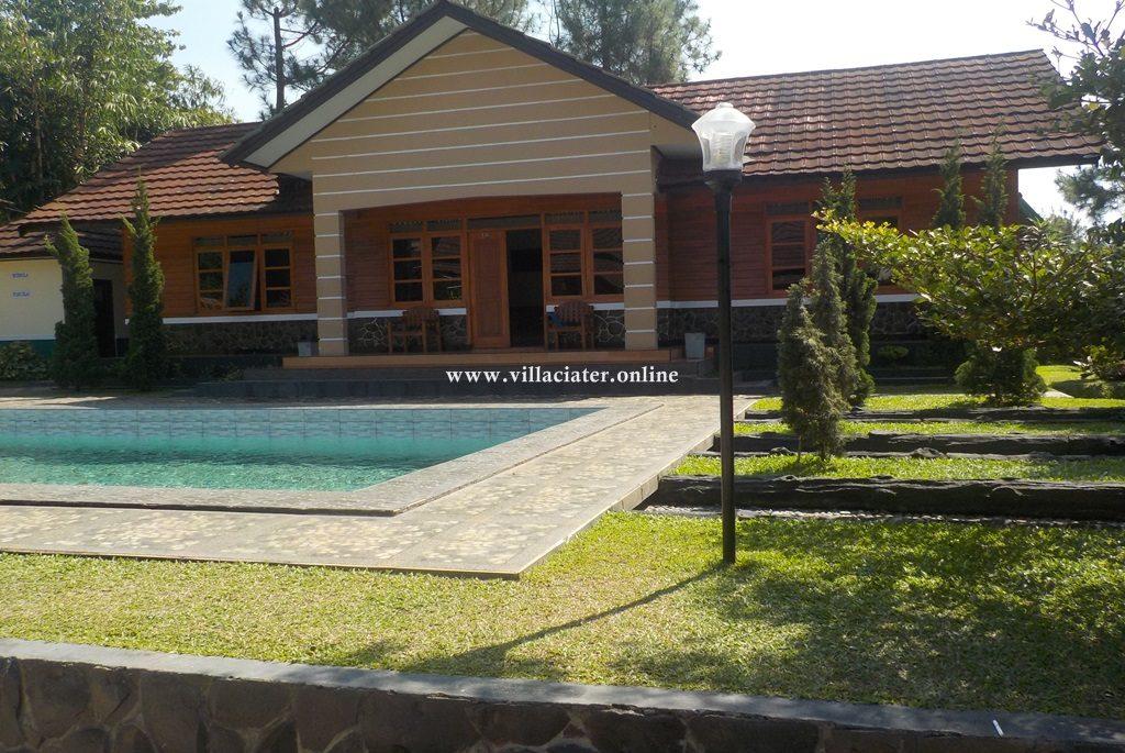 villa di ciater untuk rombongan wisata sari ater