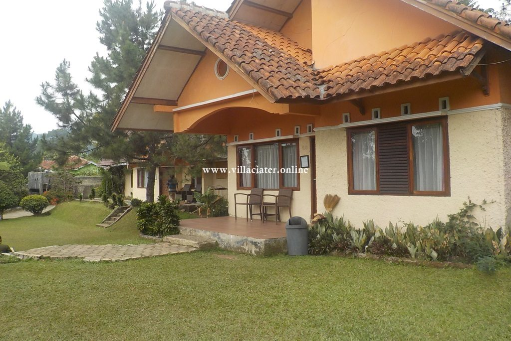 villa penginapan murah di ciater untuk rombongan