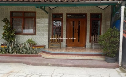 villa di daerah ciater wisata sari ater